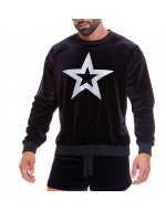 Свитшот JOR 0674-STAR-SWEATER-BLACK