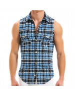 Рубашки без рукавов Modus Vivendi 12932_AZZURE