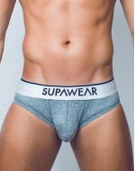 Слипы SUPAWEAR HERO-BRIEF-UNDERWEAR-DARK