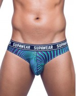 Слипы SUPAWEAR POW-BRIEF-UNDERWEAR-FREAKY-GREEN