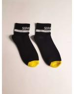 Носки SUPAWEAR SUPAANKLE-SOCKS-BLACK
